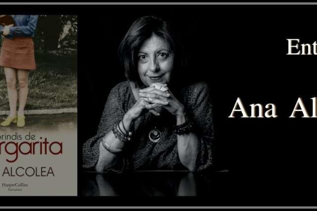 Ana Alcolea. «Las palabras y los personajes me sorprenden mientras escribo»