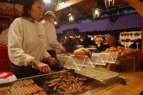 Linguiças, Comida Alemã, Nuremberg, Alemanha - Foto Nathalia Molina www.comoviaja.com