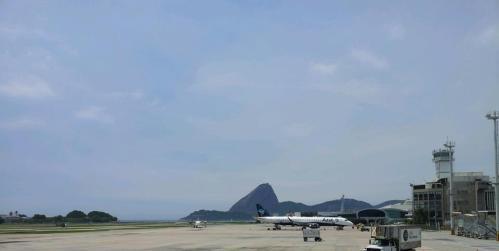 Aeroporto Santos Dumont, Chegada ao Rio - Nathalia Molina www.comoviaja.com.br