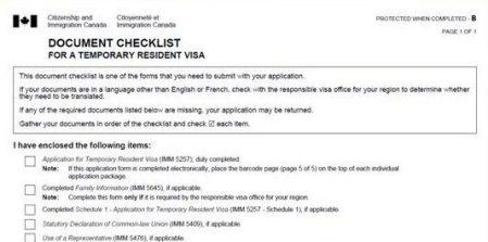 Visto canadense, Canadá, VAC, formulário imm5484 - Foto Reprodução da Internet