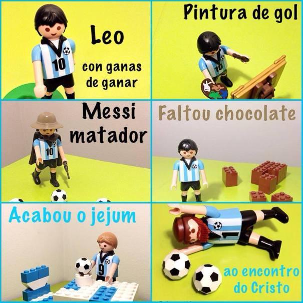 30 Como Viaja! na Copa, Alemanha vence Argentina e é Campeã, Lances da Argentina no Mundial, Lego, Playmobil, Brinquedos - Foto Nathalia Molina @ComoViaja
