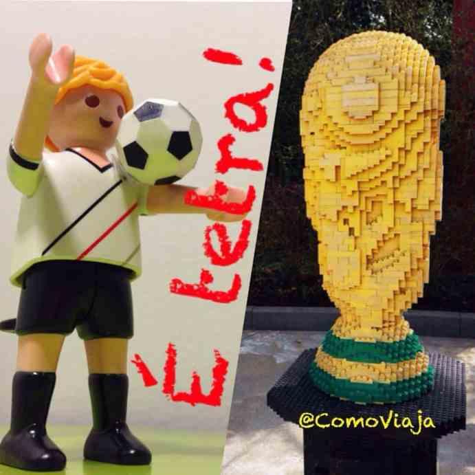 32 Como Viaja! na Copa, Alemanha vence Argentina e é Campeã, Tetra, Taça, Lego, Playmobil, Brinquedos - Foto Nathalia Molina @ComoViaja