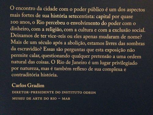 MAR, Museu de Arte do Rio, Exposição Rio Setecentista, Praça Mauá - Foto Nathalia Molina @ComoViaja (2) (1024x768)