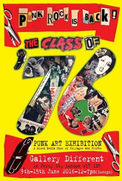 The Class of 76 Punk Art Exhibition - Foto Retirada do Site Oficial do Evento (542x800)
