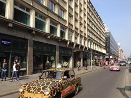 Tour de Trabi Berlim Trabant Alemanha Oriental Carro - Foto Nathalia Molina @ComoViaja