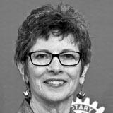 Joanne Coyle Comox Rotary member