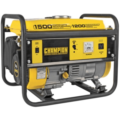 9: Champion 1200 W Gas Generator
