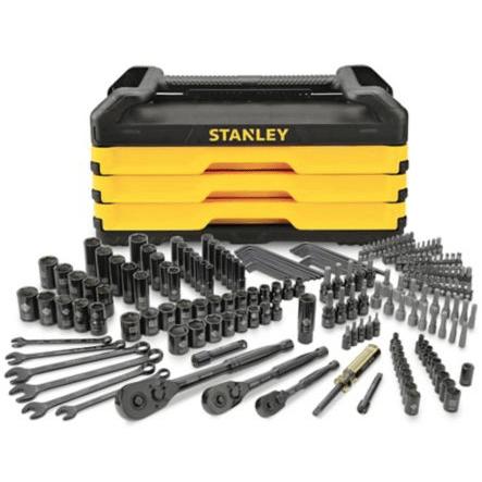 6: Stanley Socket Set, 200 pc Toolbox