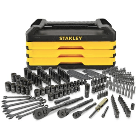 6: Stanley Socket Set, 200 pc Toolbox