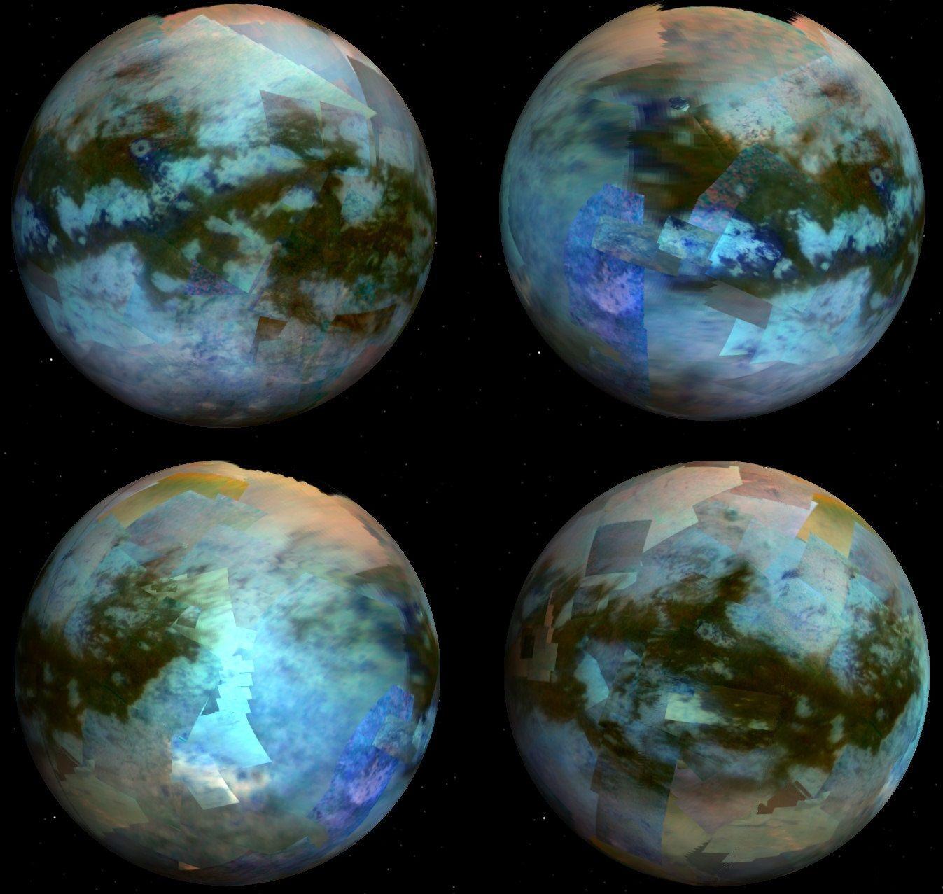 Титан планета картинки