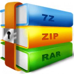 Zip, RAR és 7Z formátumok