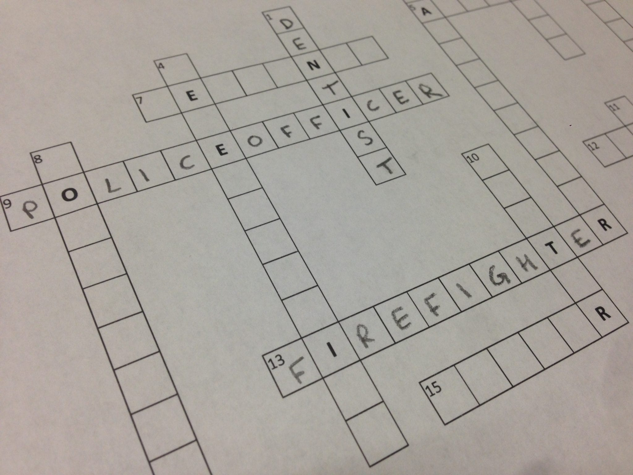 Cpv Career Crossword Puzzle 6 8