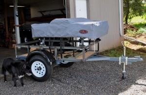 Compact Camping Trailer Custom Build Utility Trailer