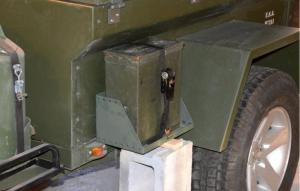 Jeep Trailer Compact Camping Ammo Cases