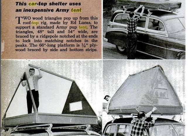 Dinoot Jeep Trailers DIY Roof Top Tent Ideas