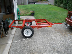 compact camping trailers bolt together frame kits