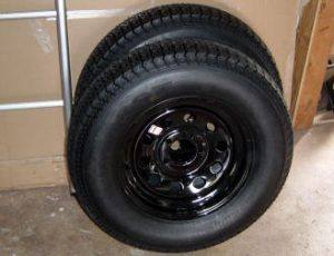 compact camping trailer tires and wheels