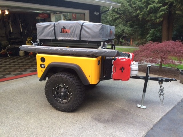 Jeep Trailer DIY Build by Customer Jason for an FJ Cruiser