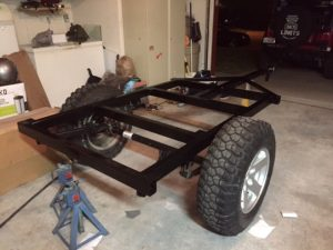 Jeep Trailer Frame Options