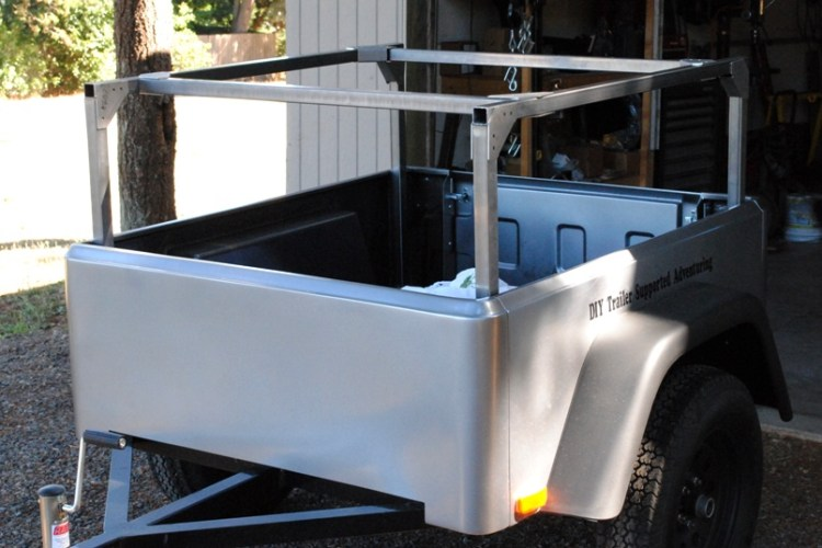 jeep trailer modular rack DIY Rack System made in USA