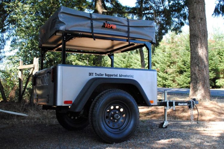 modular bolt together trailer racks dinoot jeep trailer