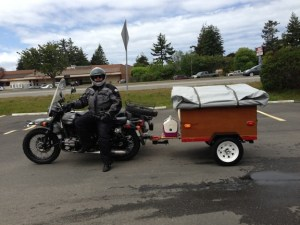 Compact Camping Trailers Explorer Box Construction Motorcycle Trailer