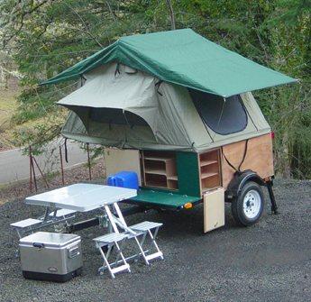 compact camping trailer explorer Box
