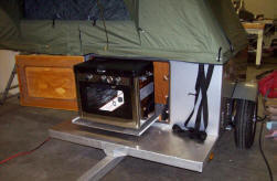 Compact Camping Trailer Explorer Box Build by Russ