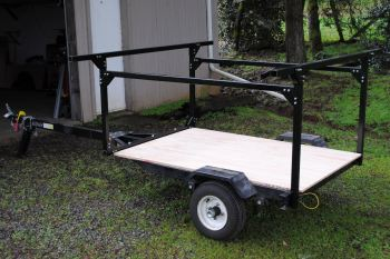 No Weld Trailer Rack DIY