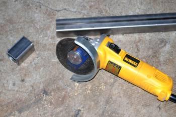 How to make a trailer rack tube-cutting