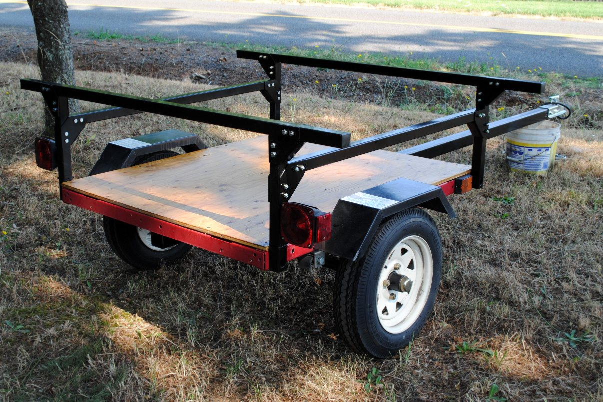 Kayak Trailer No Weld Rack Or Toy DIY From Compact Camping