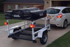 DIY Trailer Racks Bracket System we introduced earlier this year has proved to be a budget friendly way to build sturdy homemade trailer rack