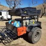 Racks for tents, trailers, trucks, RVS, multipurpose trailers, toy haulers