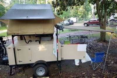 Compact Camping Concepts Trailer Supported Adventuring