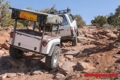 Dinoot Jeep Trailer Cruise Moab 2013 Kokopelli Trail