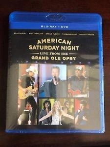 American Saturday Night – Live From The Grand Ole Opry (Blu-Ray and DVD) SS