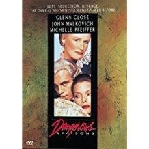 Dangerous Liaisons – John Malkovich, Glenn Close (DVD) (WS and FS) (R-Rated)