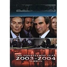 Law & Order – The Fourteenth Year (DVD Box Set) (LS, small rip in outer plasic cover)