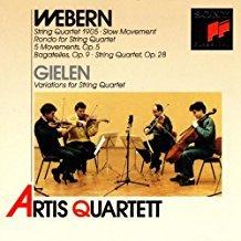 Webern – String Quartet 1905 – Artis Quartett