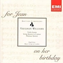 Vaughan Williams – Chamber Music – Music Group Of London