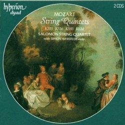 Mozart – String Quintets (K515, 516, 593, 614) – Salomon String Quartet (2 CDs)
