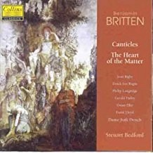 Britten – Canticles – The Heart of the Matter – Steuart Bedford
