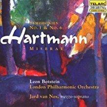 Hartmann – Symphonies No. 1 and No. 6 – Leon Botstein
