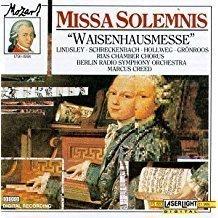 Mozart – Missa Solemnis – Waisenhausmesse