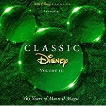 Classic Disney Volume III