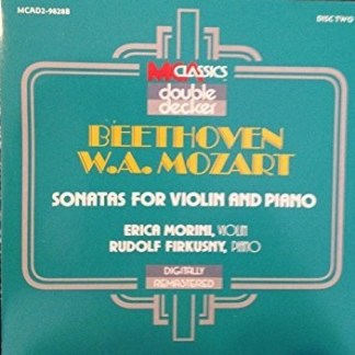 Beethoven, Mozart & Brahms – Sonatas for Violin and Piano – Erica Morini, Rudolf Rudolf Firkusny