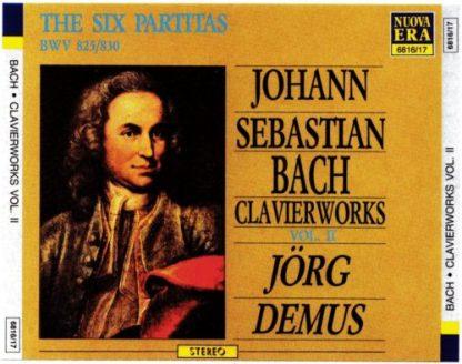 Bach – Clvierworks Vol. II – Jorg Demus (3 CDs)