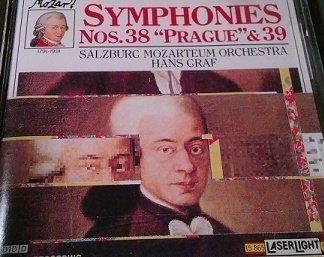 Mozart – Symphony Nos. 38 'Prague' and 39 – Hans Graf