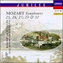 Mozart – Symphonies Nos. 25, 26, 27, 29 & 32 – Neville Marriner