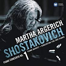 Shostakovich – Piano Concerto No. 1; Concertino; Piano Quintet – Martha Argerich